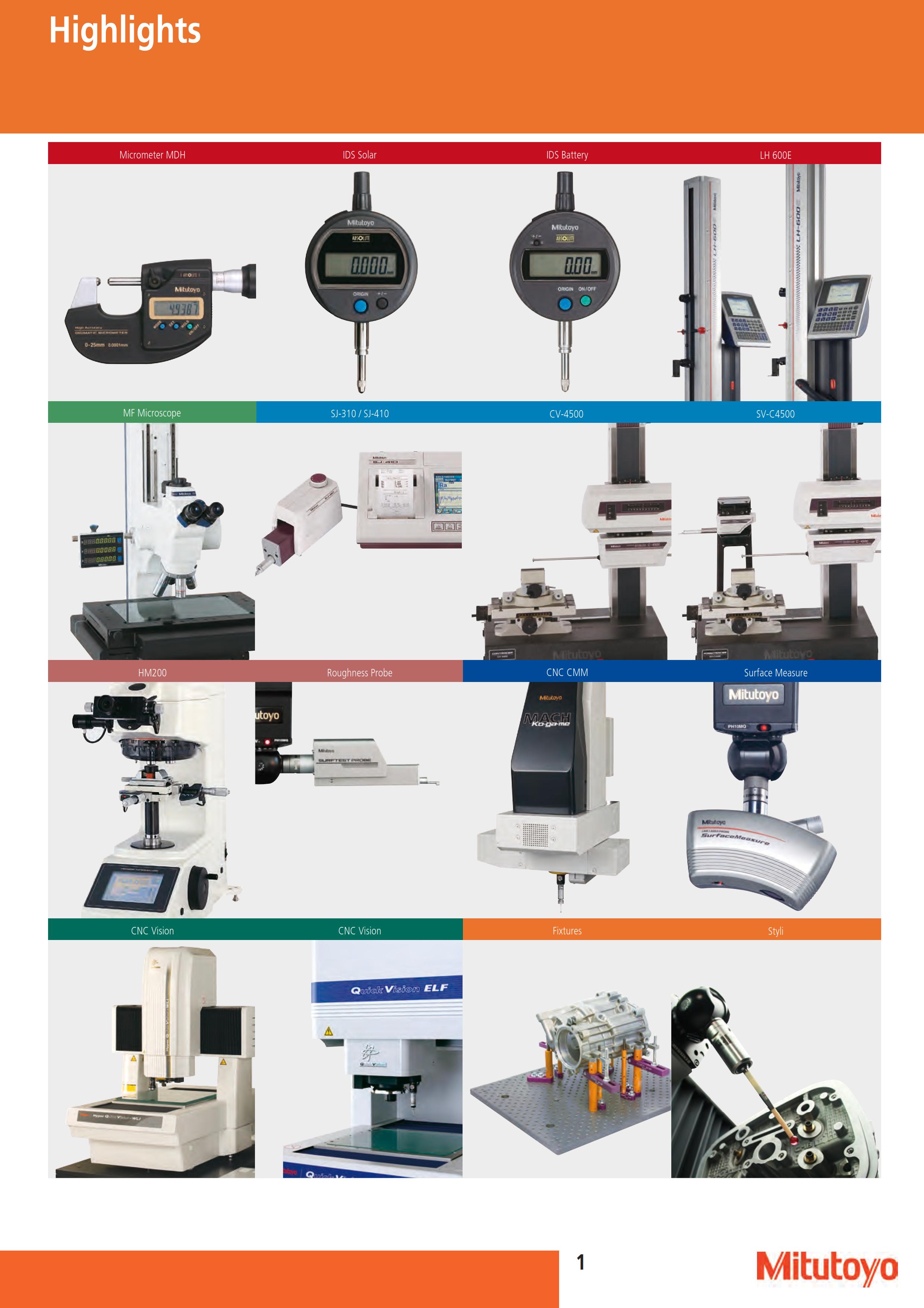 Mitutoyo Measuring Equipment : Mitutoyo micrometer vernier caliper dial gauge height