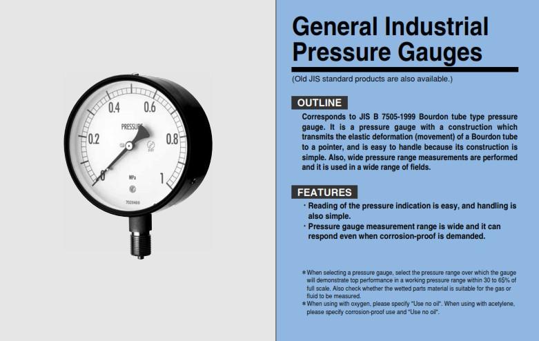 nagano keiki  nks  pressure gauge  compound gauge  vacuum